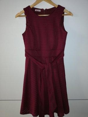 Kurzes Kleid weinrot, festlich