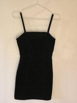 Kurzes Kord Kleid
