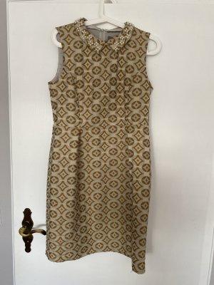 Kurzes schickes Kleid - Retromuster 70er