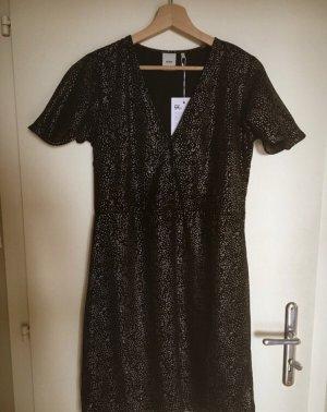 Kurzes schwarz/goldenes Kleid