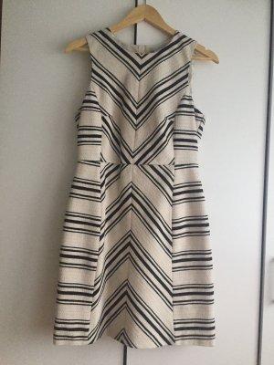 Kurzes schwarz weiß Kleid