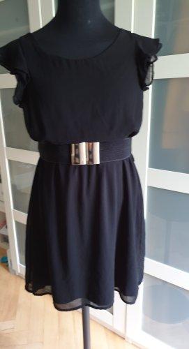 Ckh clockhouse Chiffon Dress black