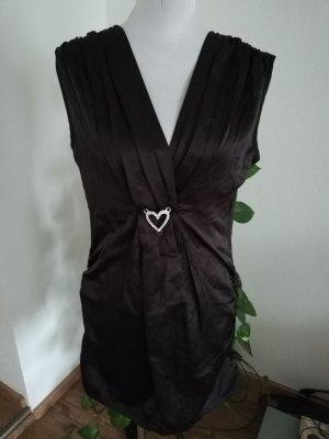 kurzes schwarzes Kleid Gr. 42