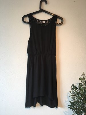 H&M Divided Robe chiffon noir
