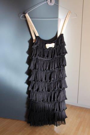 Kurzes Schwarzes Party-Kleid in Größe XS