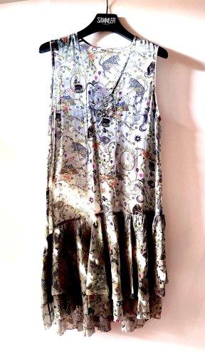 Zadig & Voltaire Summer Dress pale blue-azure silk