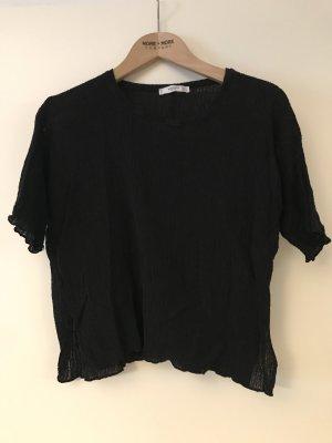 Kurzes Shirt von Mango Gr. S