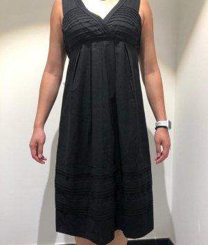 René Lezard Summer Dress black cotton