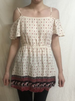 Kurzes Sommerkleid H&M boho 42 40 coachella minikleid