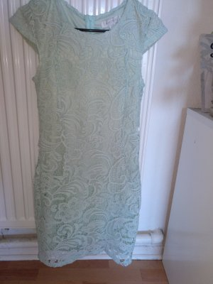 Amisu Lace Dress turquoise-mint