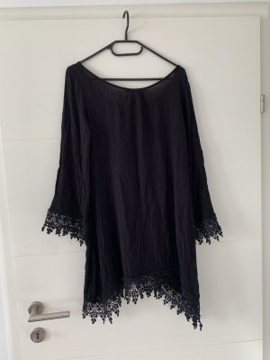 Acesnug Sukienka plażowa czarny