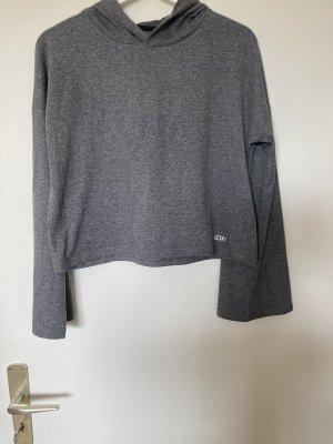 Roxy Sudadera con capucha gris claro-blanco