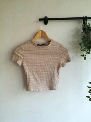 Tally Weijl Cropped Shirt cream-oatmeal