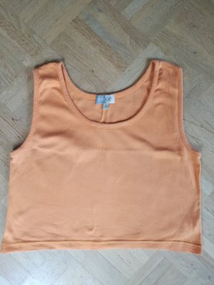kurzes Top, bauchfrei, orange
