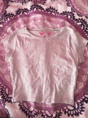 FB Sister T-shirt court crème-gris clair