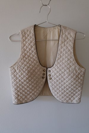 Traditional Vest oatmeal wool