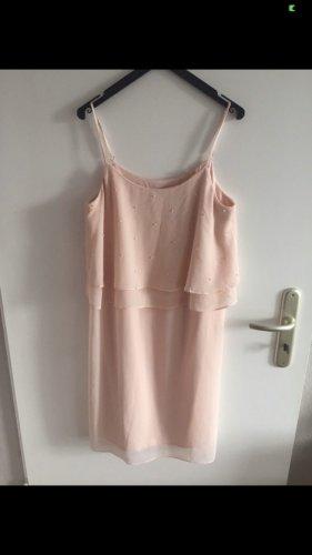 Kurzes Trägerkleid von Esprit in Rosé
