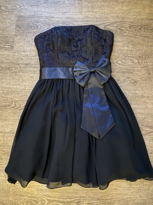 Laona Cocktail Dress dark blue polyester