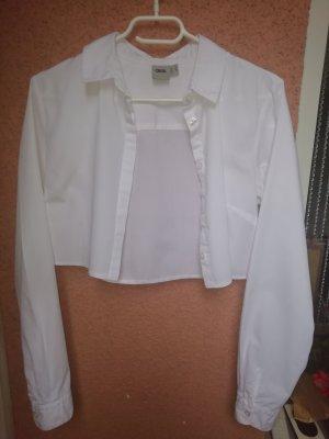 Kurzes weißes Hemd von ASOS 38