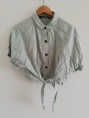 Kurzhemd von Zara Gr. S mit Leinenanteil