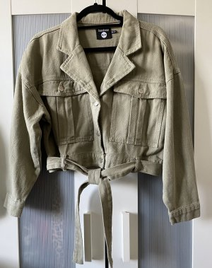 Boohoo Short Jacket sage green