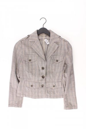 Kurzjacke Größe 40 grau aus Baumwolle