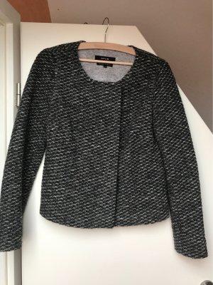 Opus Knitted Blazer grey-dark grey