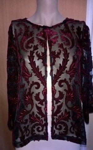 Brian Rennie Short Jacket purple polyester