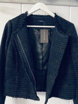 Kurzjacke, Navyblue, Tweed Style