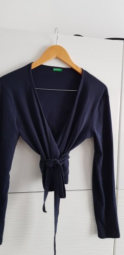 Benetton Wraparound Jacket dark blue