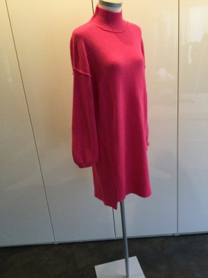 BSB Collection Gebreide jurk roze