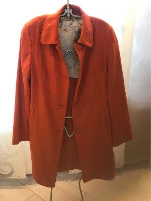 Authentic Clothing Company Krótki płaszcz ciemny pomarańcz