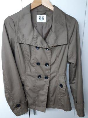 Vero Moda Cappotto corto marrone-grigio