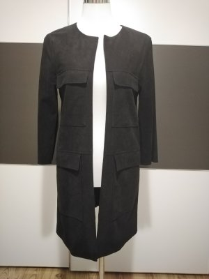 H&M Giacca lunga nero