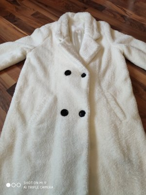 Manteau court blanc