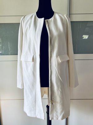 H&M Manteau court blanc cassé
