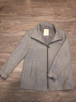 Esprit Krótki płaszcz jasnoszary