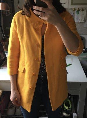Zara Abrigo corto naranja dorado-naranja claro
