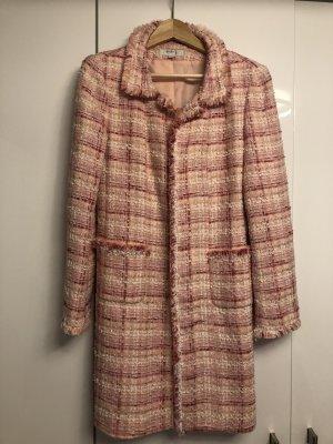 1.2.3 Paris Short Coat pink mixture fibre