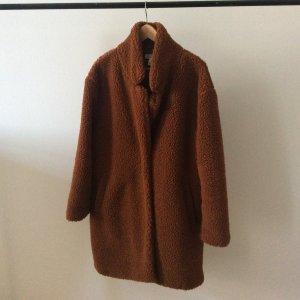 H&M Manteau en fausse fourrure brun