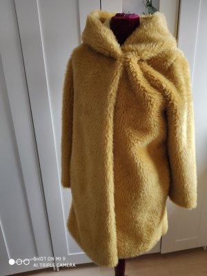 Fleece jas geel