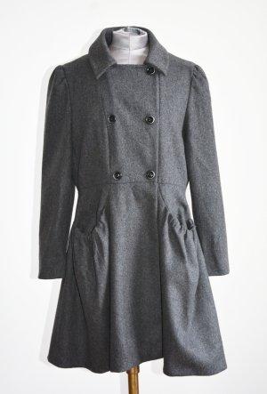 Miu Miu Abrigo de piloto gris