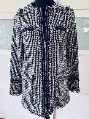 Trf by Zara Short Coat black-white