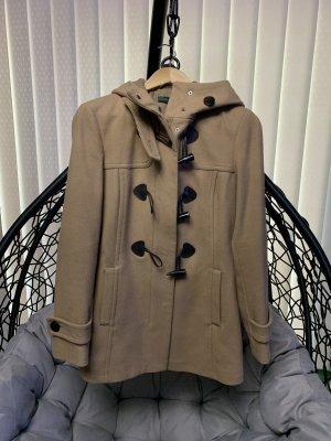 Benetton Short Coat light brown
