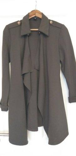 Amisu Geklede jurk groen-grijs