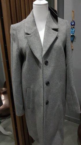 Selected Manteau court gris