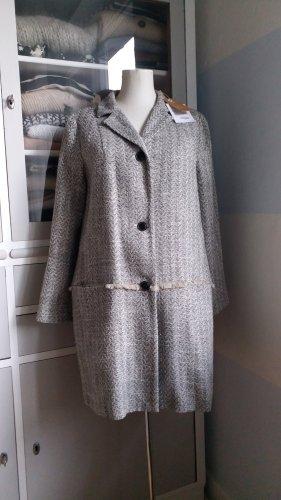 Bellerose Cappotto corto nero-bianco sporco