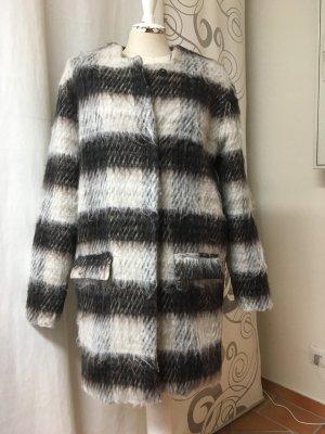Short Coat dark grey-light grey