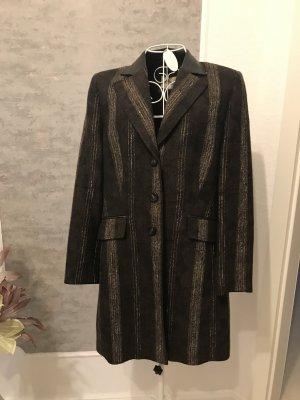 Basler Frock Coat black brown-natural white mohair
