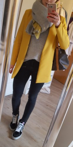 Kurzmantel gelb